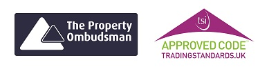 the property ombudsman logo and TSI approved logo